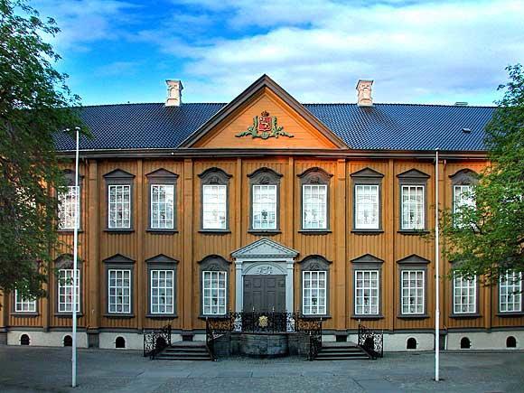Fasade, Stiftsgården. Foto: Torstein Dalemark. (Foto/Photo)