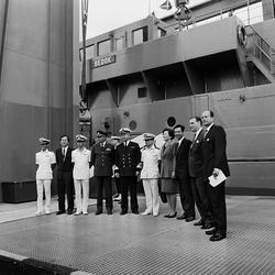 Varvet runt- en bildutställning Minröjningsfartyget Bedok f