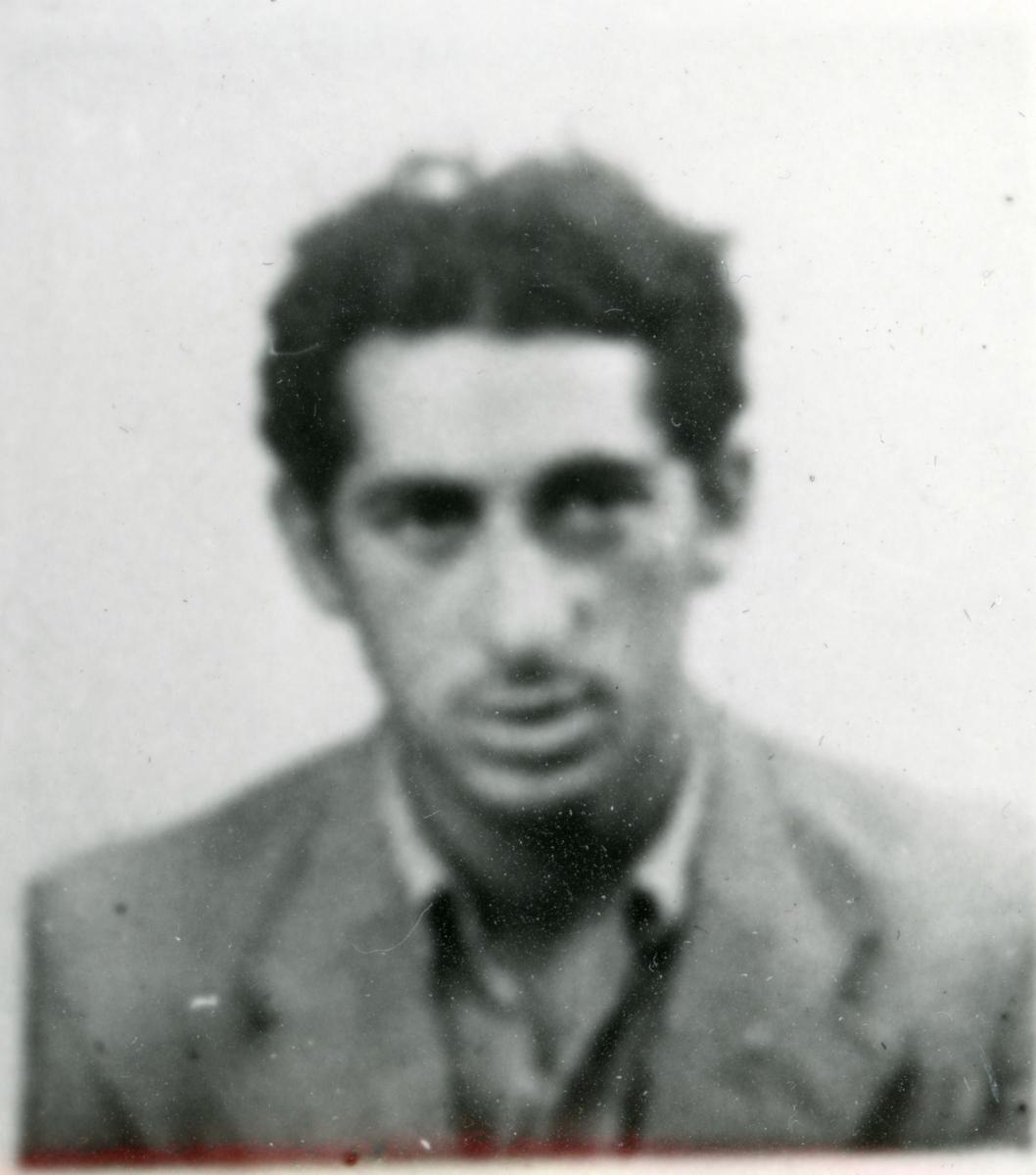 Porträttbild av en ung man. Bildens ursprung är okänt.
