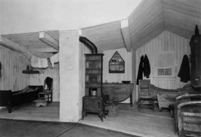Rommene fra Vika midt på 1800-tallet er basert på Eilert Sundts undersøkelser.. (Foto/Photo)