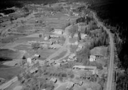 Flygfoto över Transtrand.