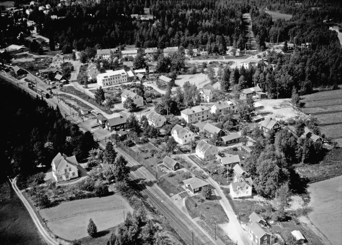 Flygfoto över Äng i Nässjö kommun, Jönköpings län. 842/ 1967