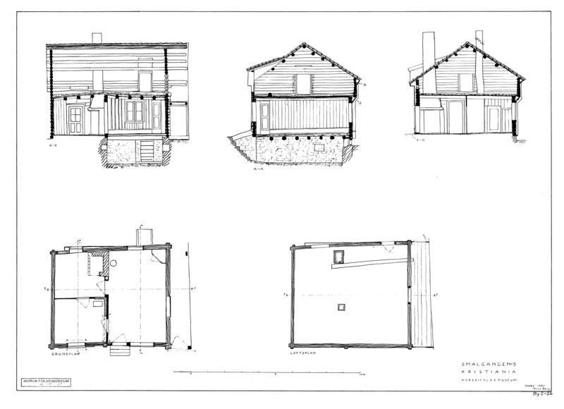 211 Forstadshus fra Smalgangen 5 (Foto/Photo)