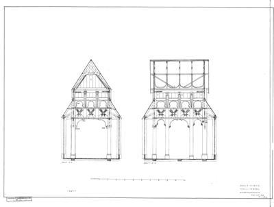 181 Stavkirke fra Gol