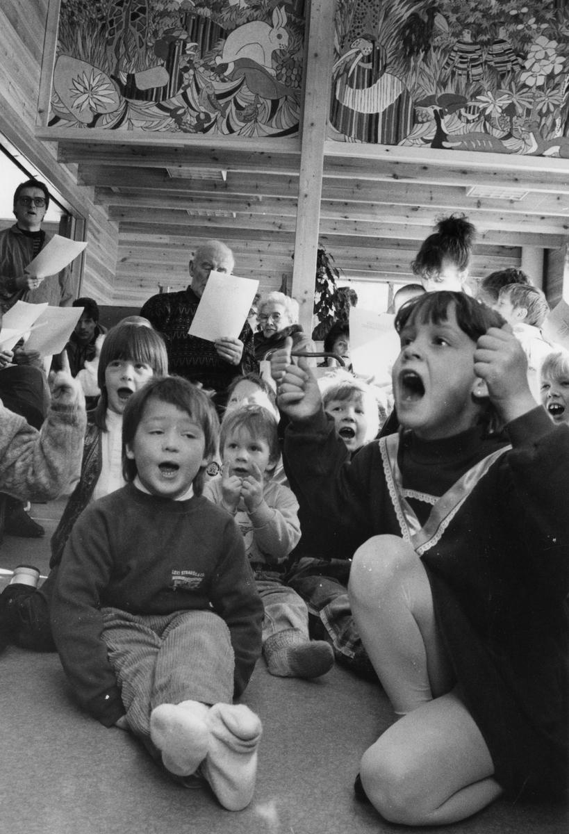 Lekestua barnehage i Tylldalen åpnes