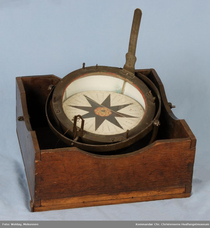 Luftkompass i kasse