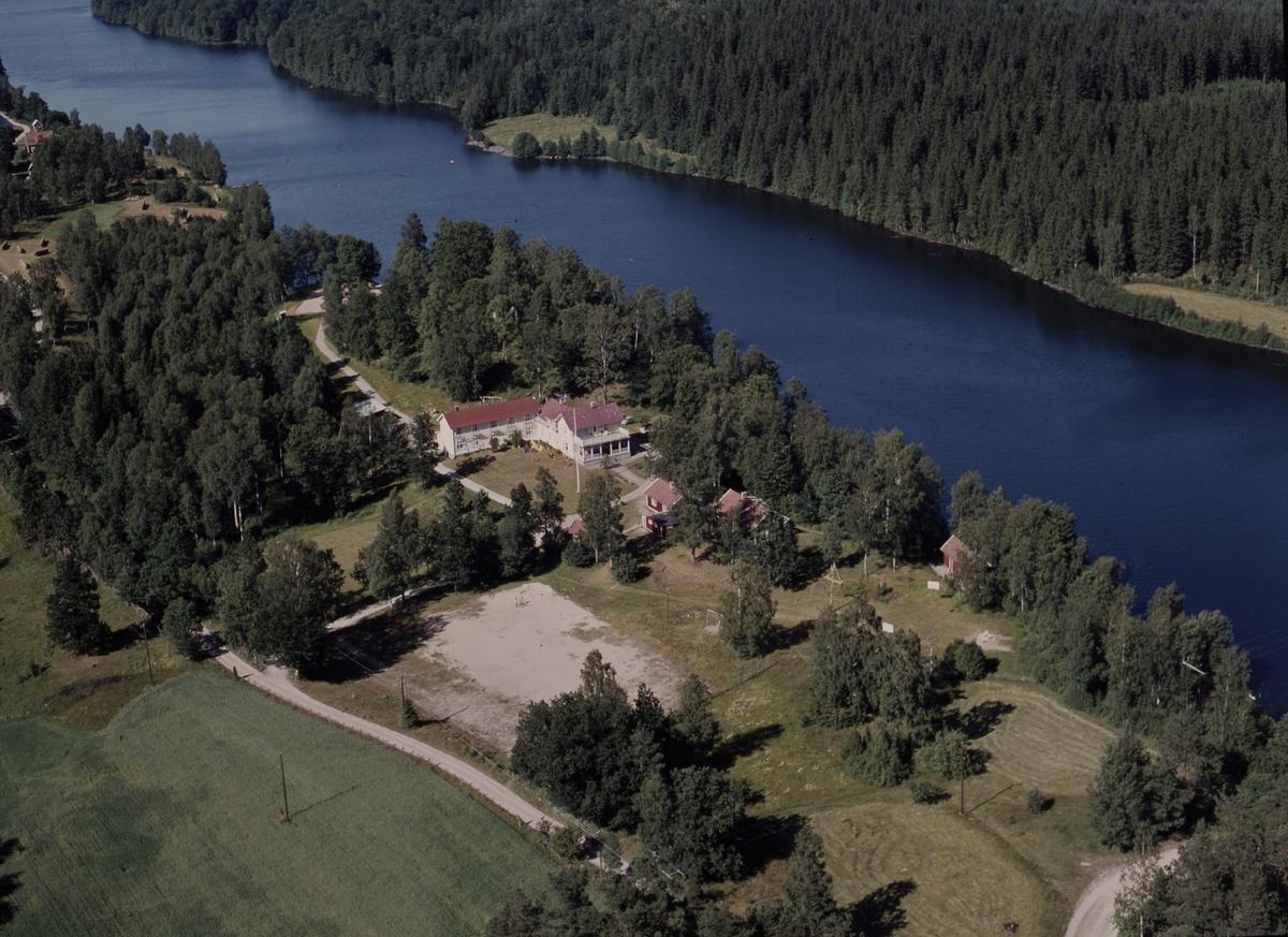 Flygfoto över Solgården i Bor, Jönköpings kommun.  124/1971
