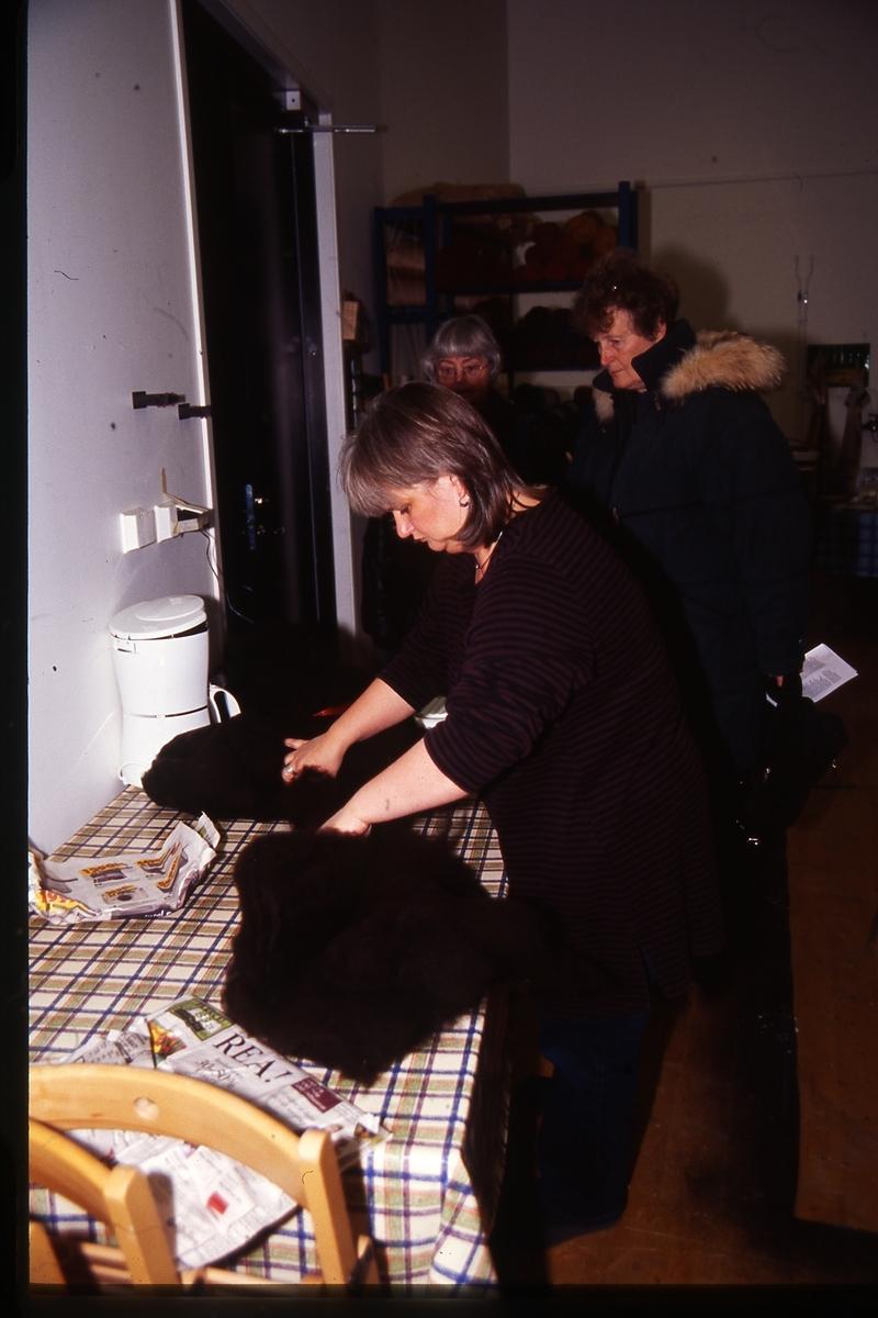 Jurtastaden Nov. Dec 2003; Ingela Fredell