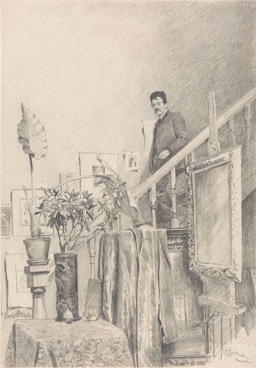 Eilif Peterssen [Tegning]