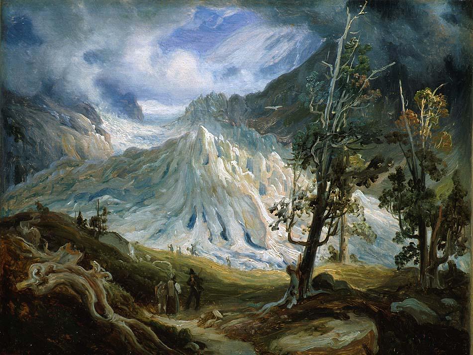 Grindelwaldgletscheren [Maleri]