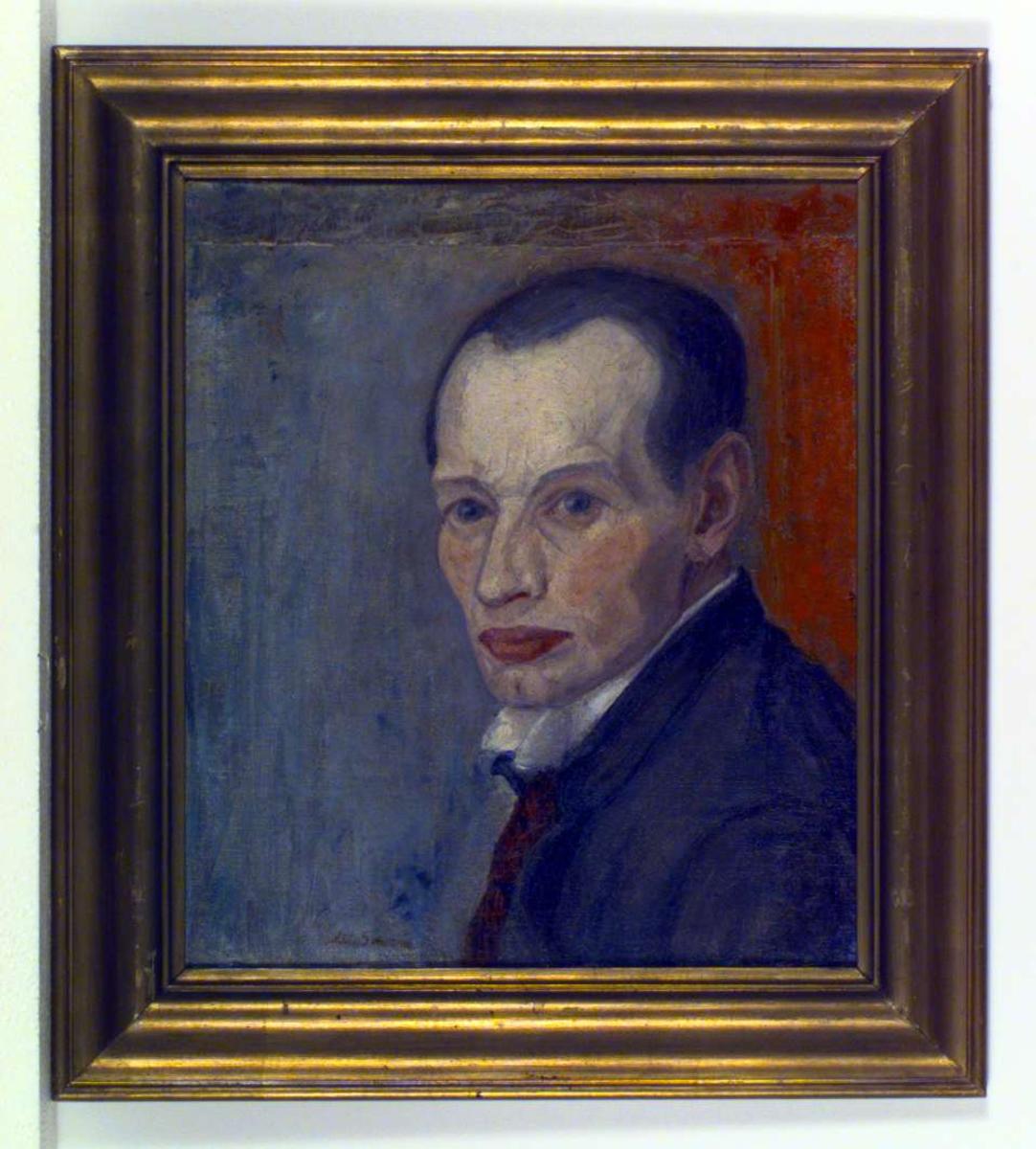 Selvportrett av A.C.Svarstad