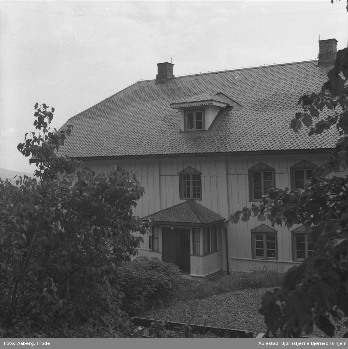 DOK:1980, Aulestad, hovedbygning,