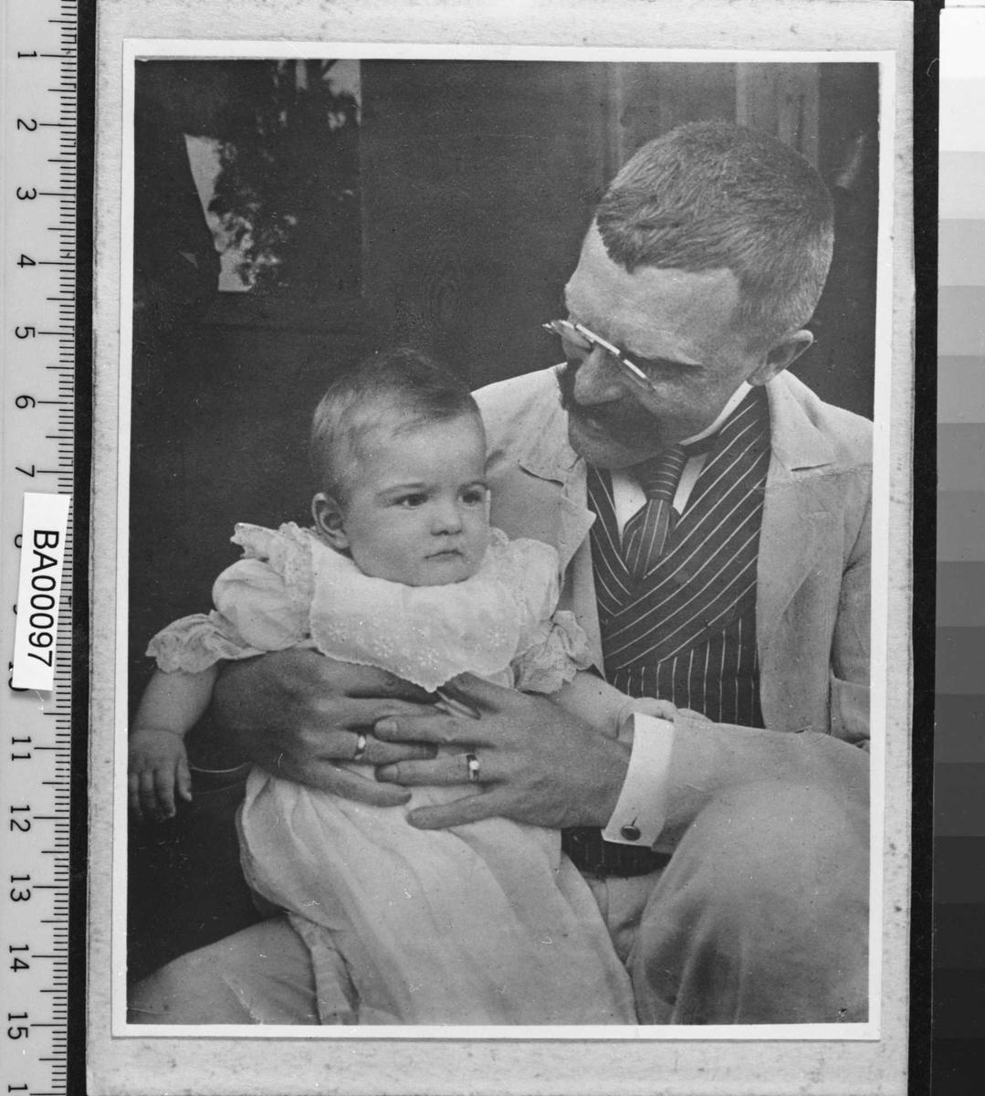Einar Bjørnson, sønn, dåp,