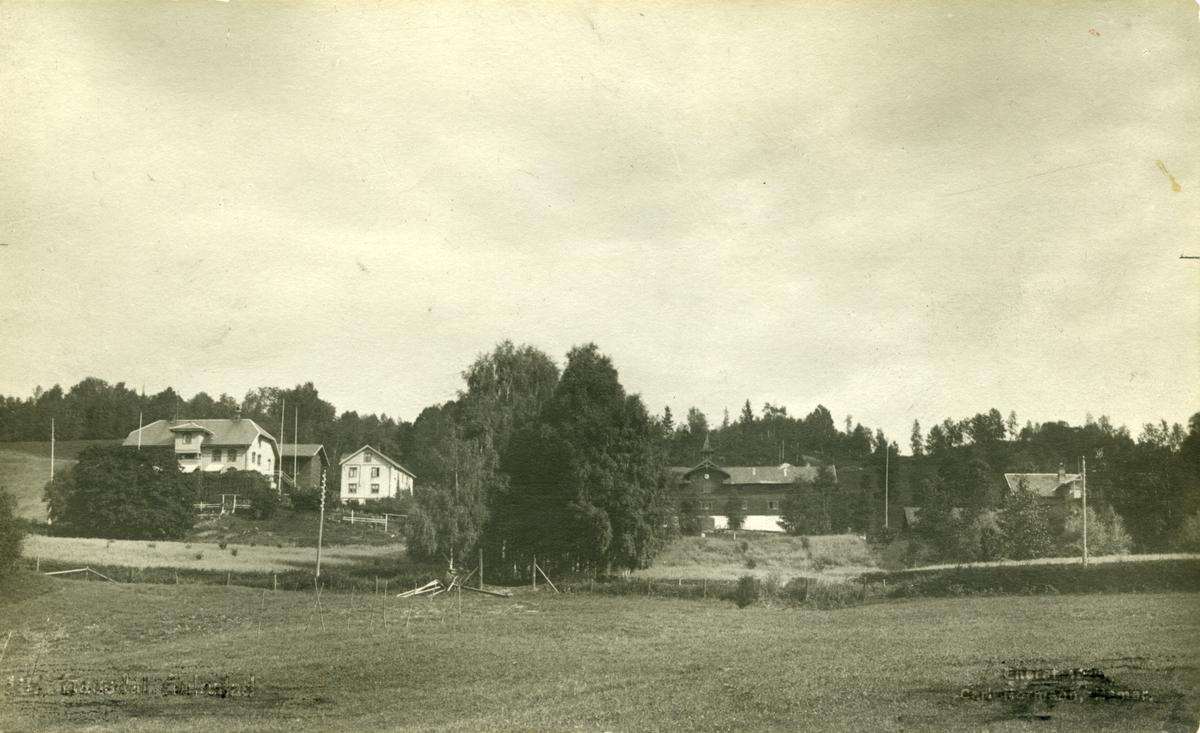 Aulestad, Nedre Aulestad (Erling-huset) allé, postkort