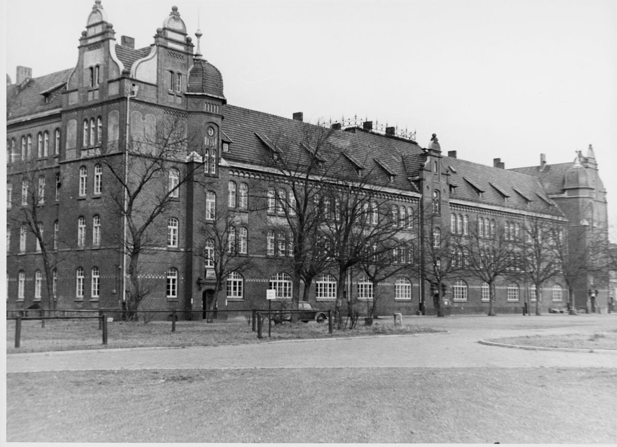 postkontor, eksteriør, feltpostkontor, Norsk feltpostkontor Tyskland - Oslo, Eidenkaserne Rendsburg