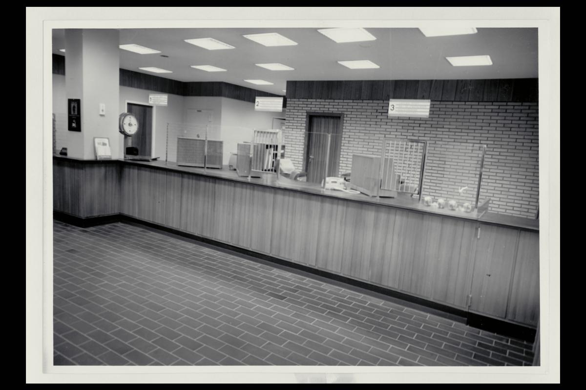 interiør, postkontor, 4200 Sauda, publikumshall