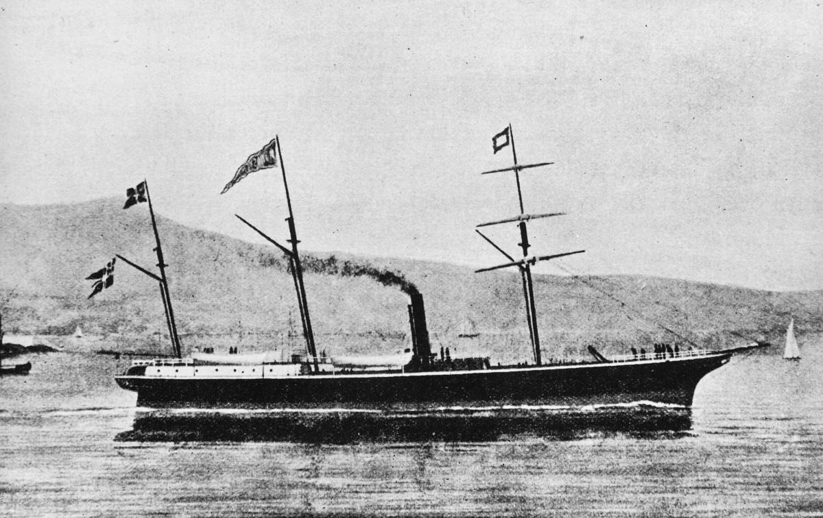 transport båt, eksteriør, D/S Nordstjernen II