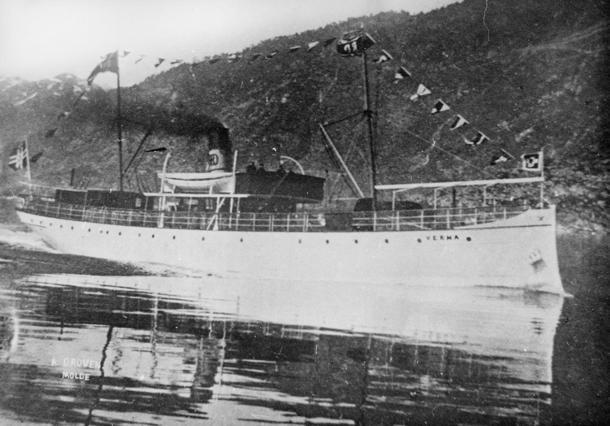 transport båt, eksteriør, D/S Verma