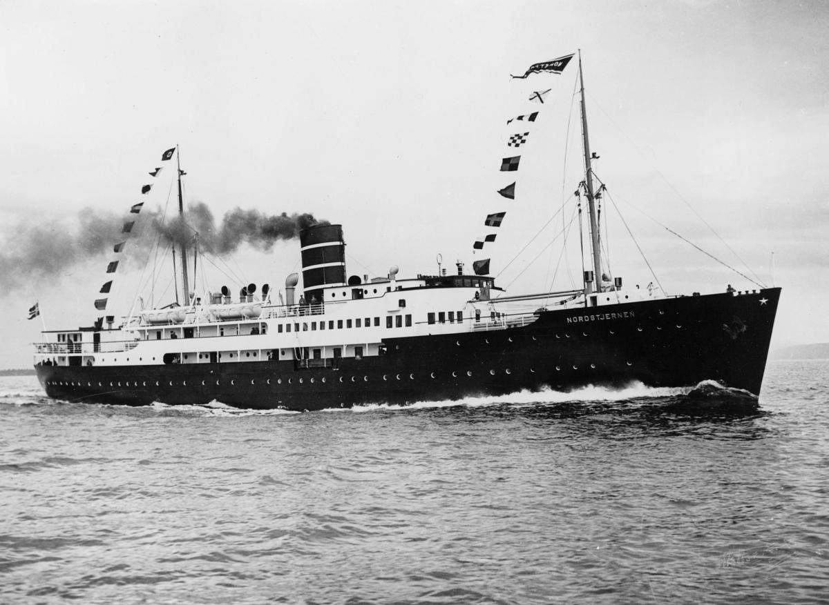 transport båt, eksteriør, Nordstjernen