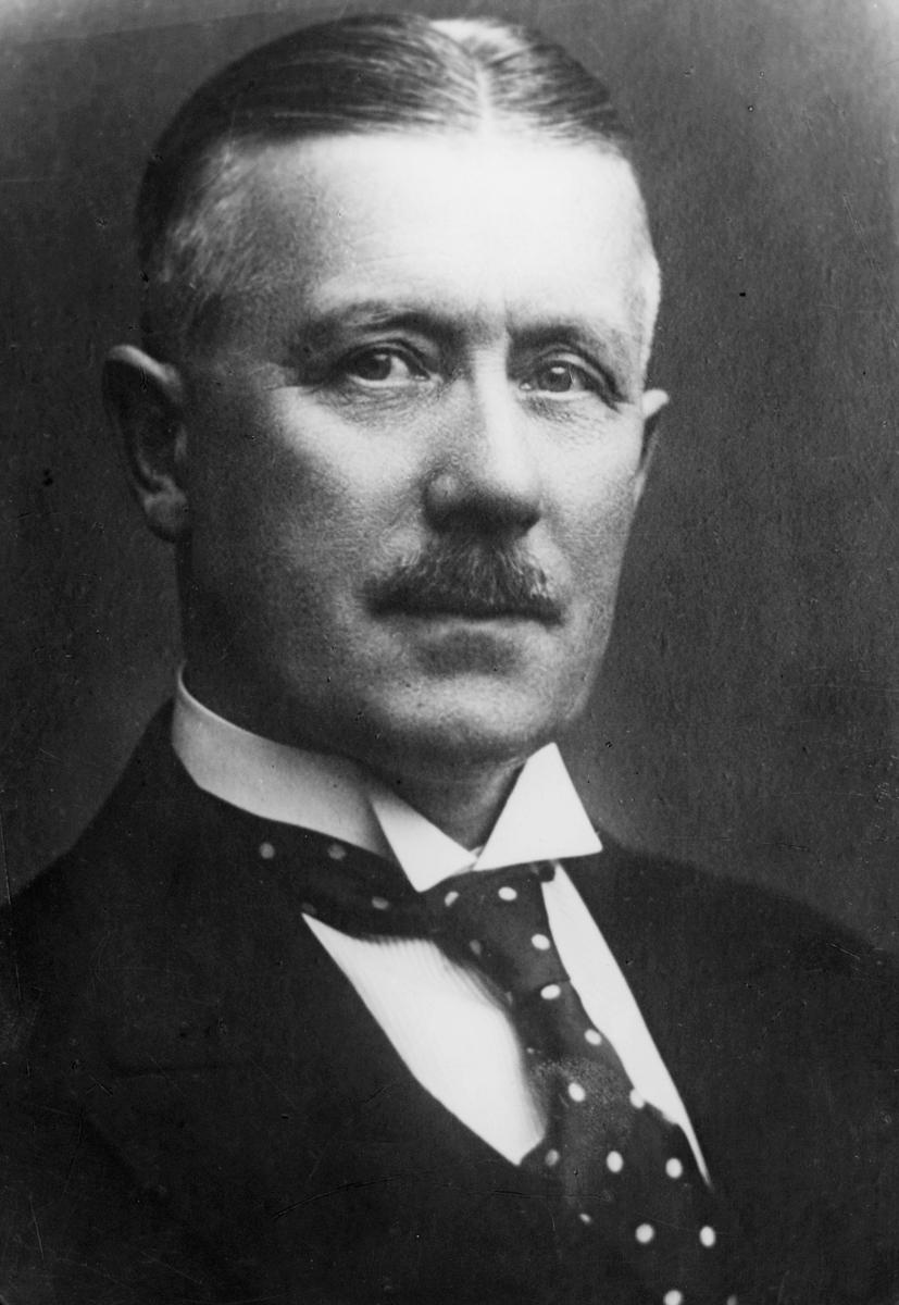 portrett, postmester, Anthon Julius Nielsen