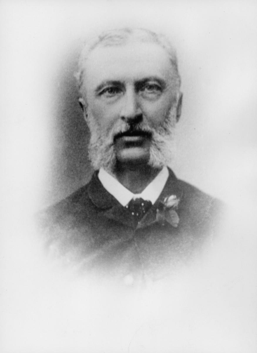 postmester, Voss Carl Christopher Nikolai, portrett