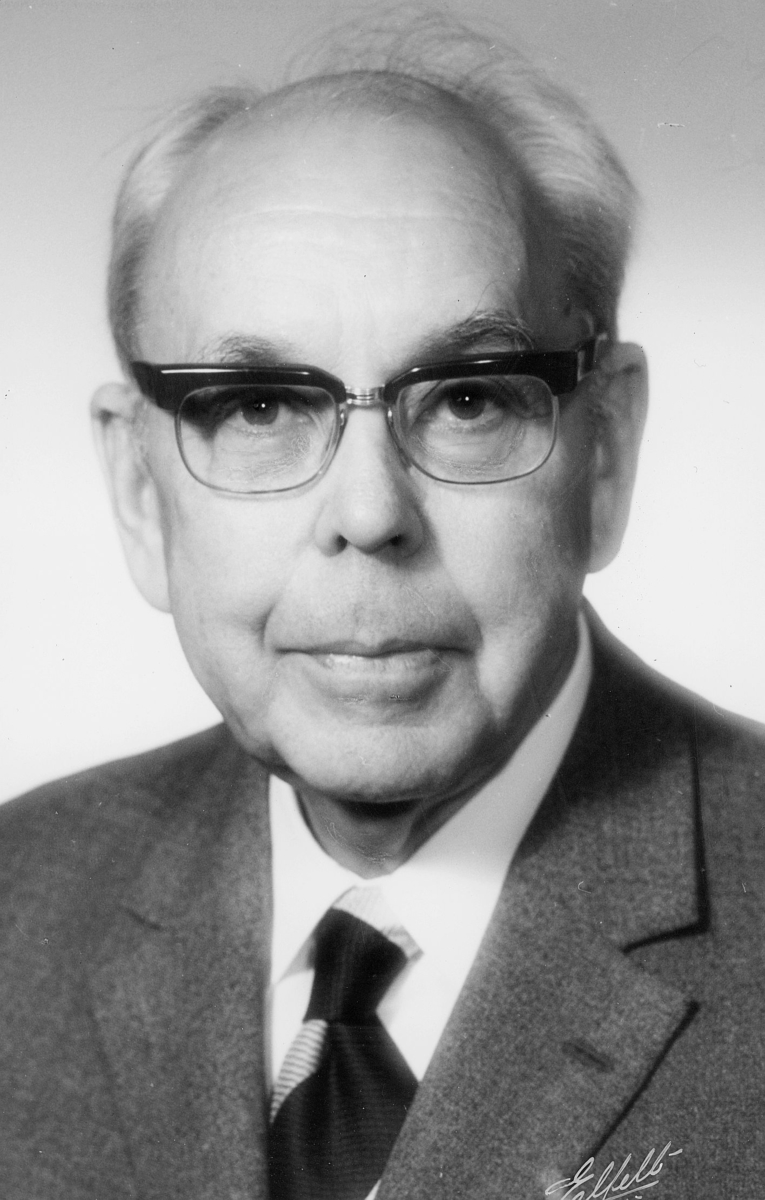 Pedersen Gunnar, portrett