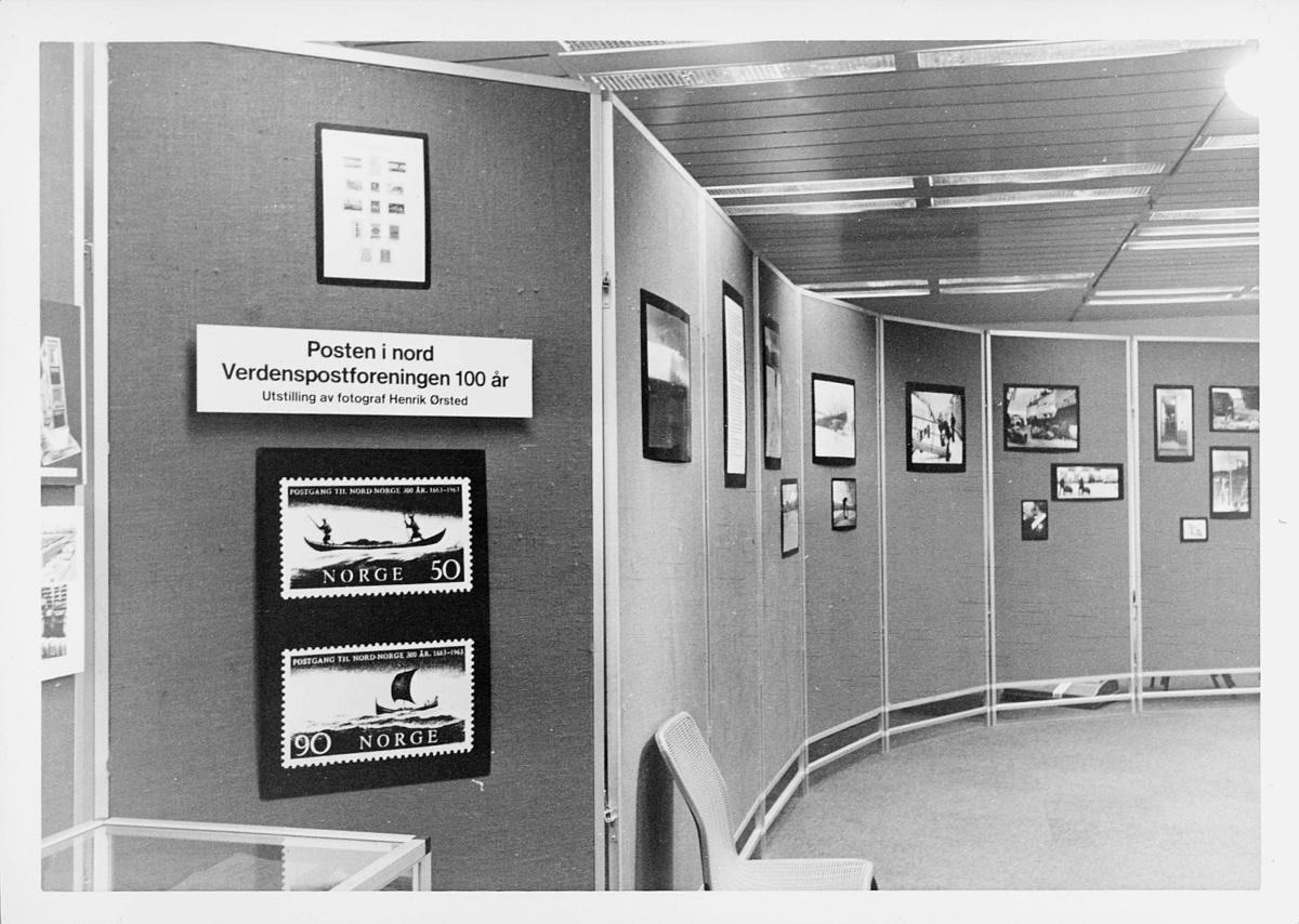markedsseksjonen, filateli, verdenspostforeningen (UPU) 100 år, 9. oktober