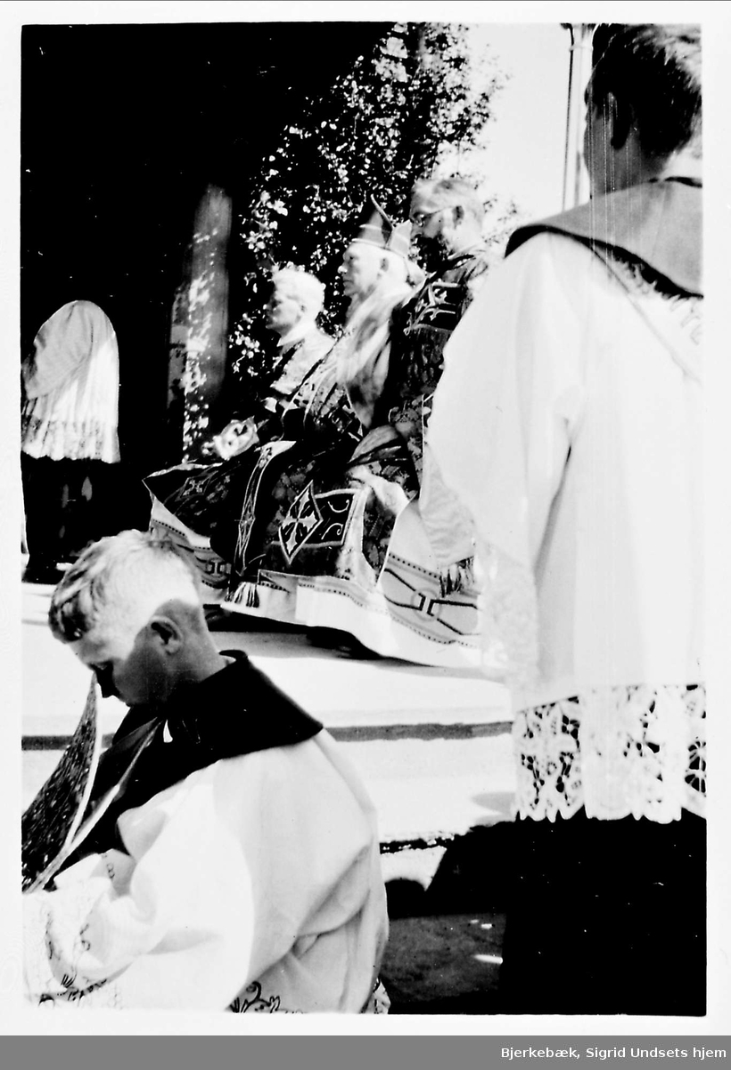 Olsok, messe, prest, biskop