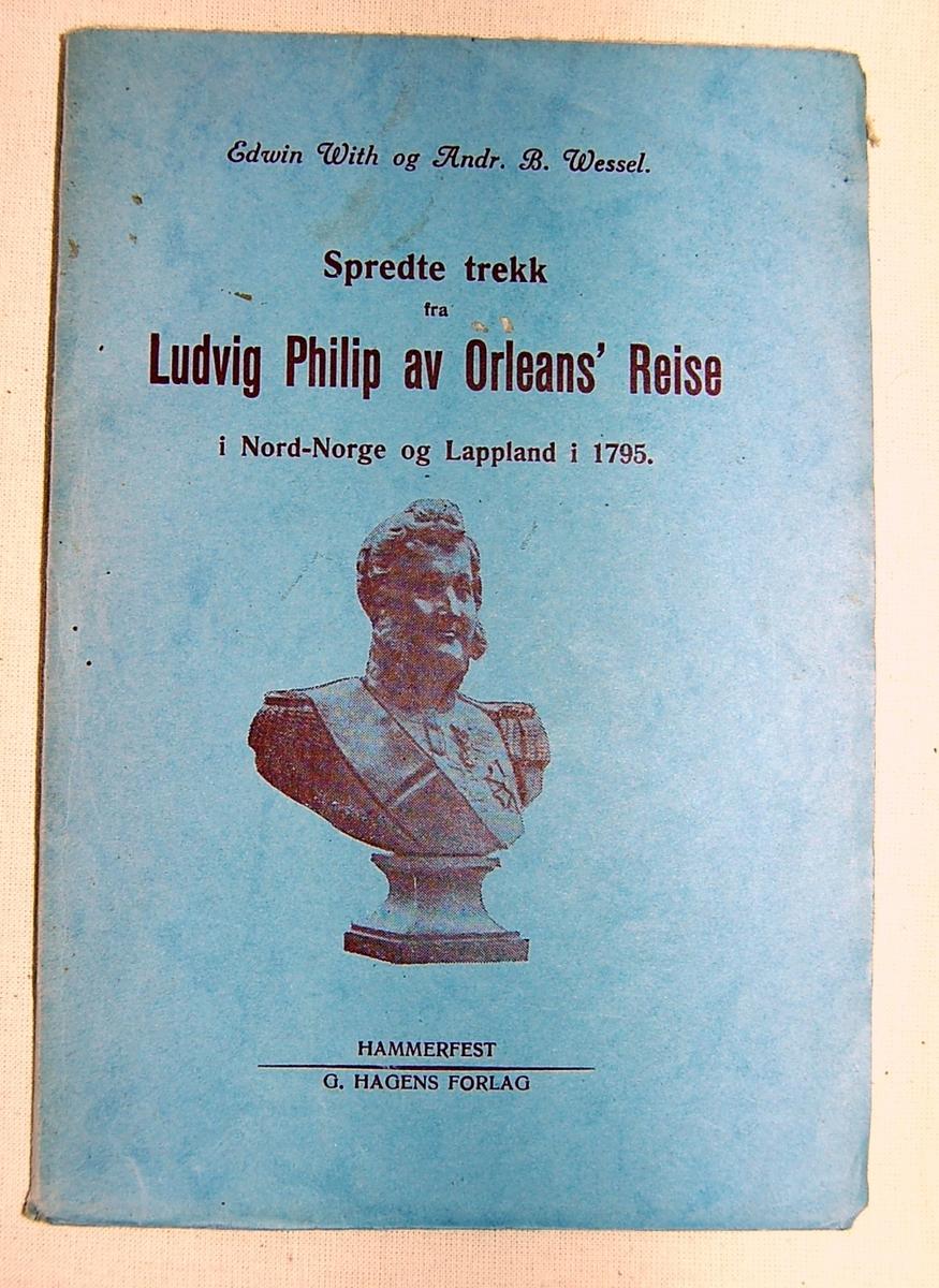 På bokens forside: Buste av Ludvig Philip av Orlean