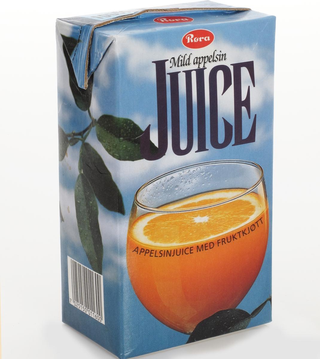Et glass juice.