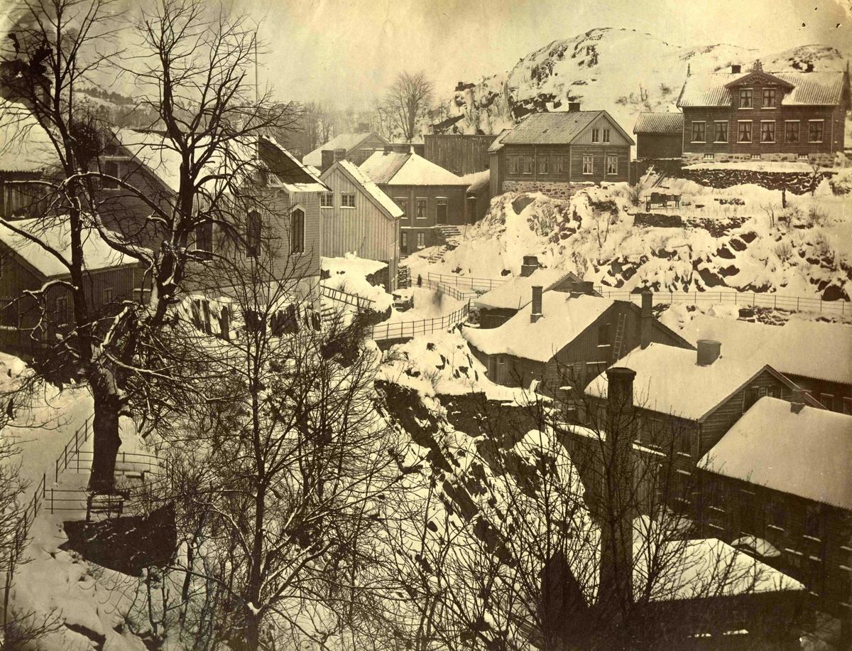 Fra John Ditlef Fürst fotoalbum. Hylleveien i Arendal.  AAks 44 - 4 - 7 - Bilde nummer 108