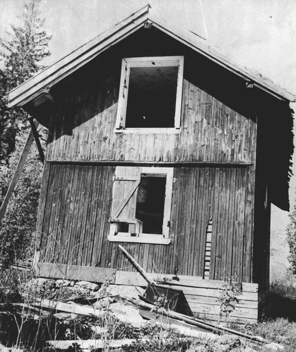 Hauglandhytta, gml. husmannsplass under Haugland gård.