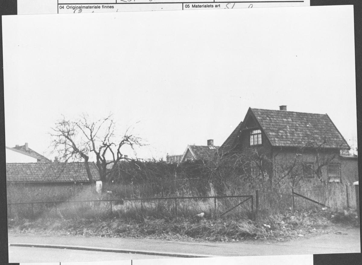Elektriker Sigurd Hansens hus i Strømsvn.