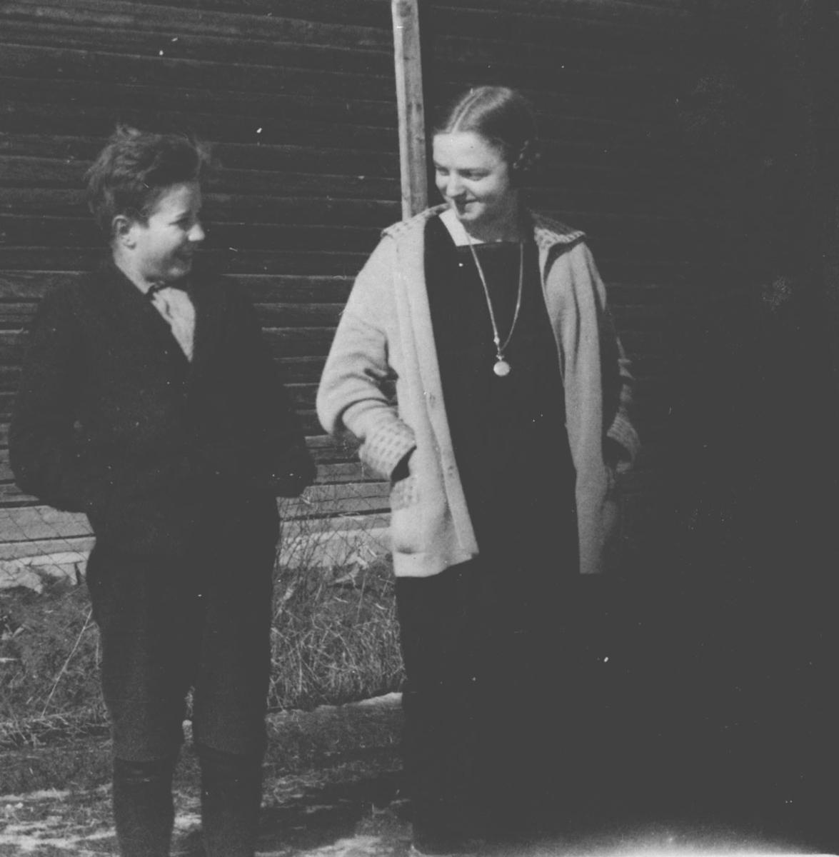 Hans Syvertsen og Ruth Olstad