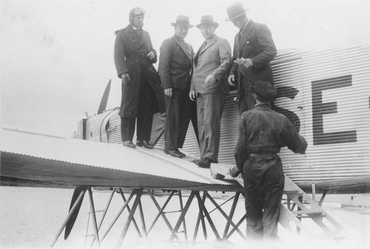 Taksiflyvning ca. 1930