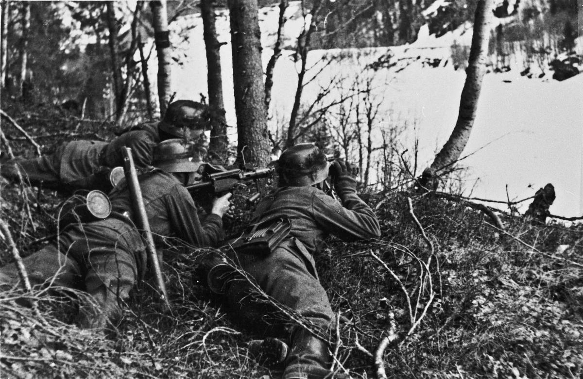 Tyske soldater.