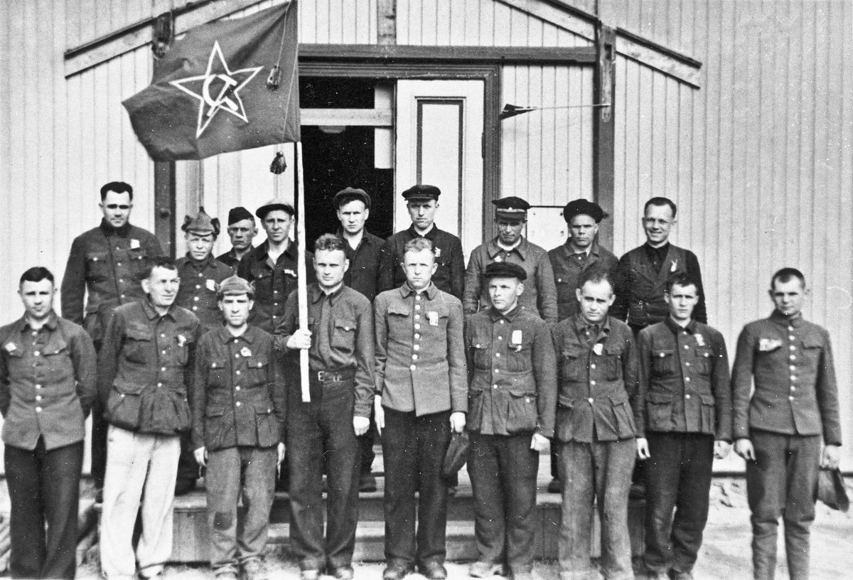 Russiske fanger utenfor Håpet.