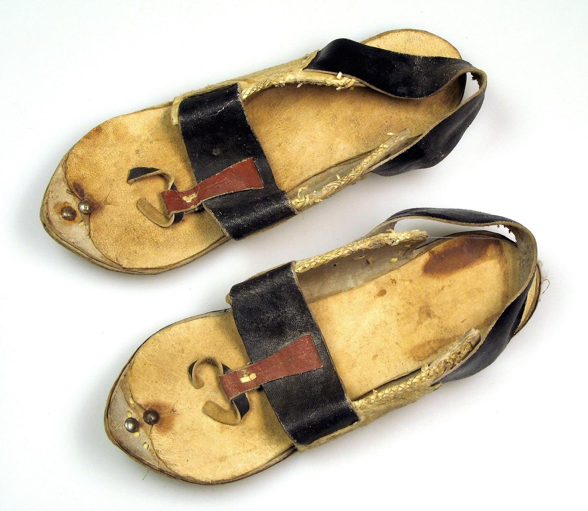 Sandaler, mannssko.