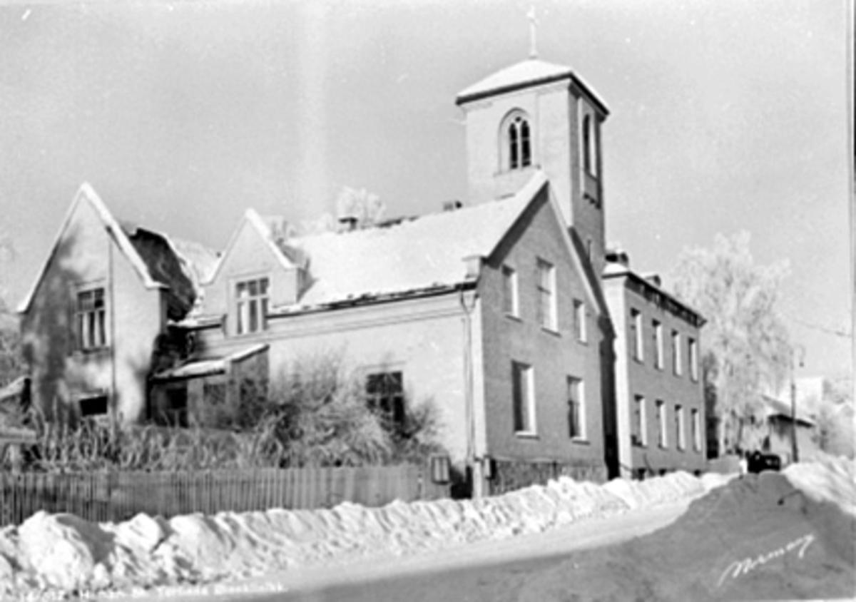 EKSTERIØR, ST. TORFINNS KLINIKK, VINTER