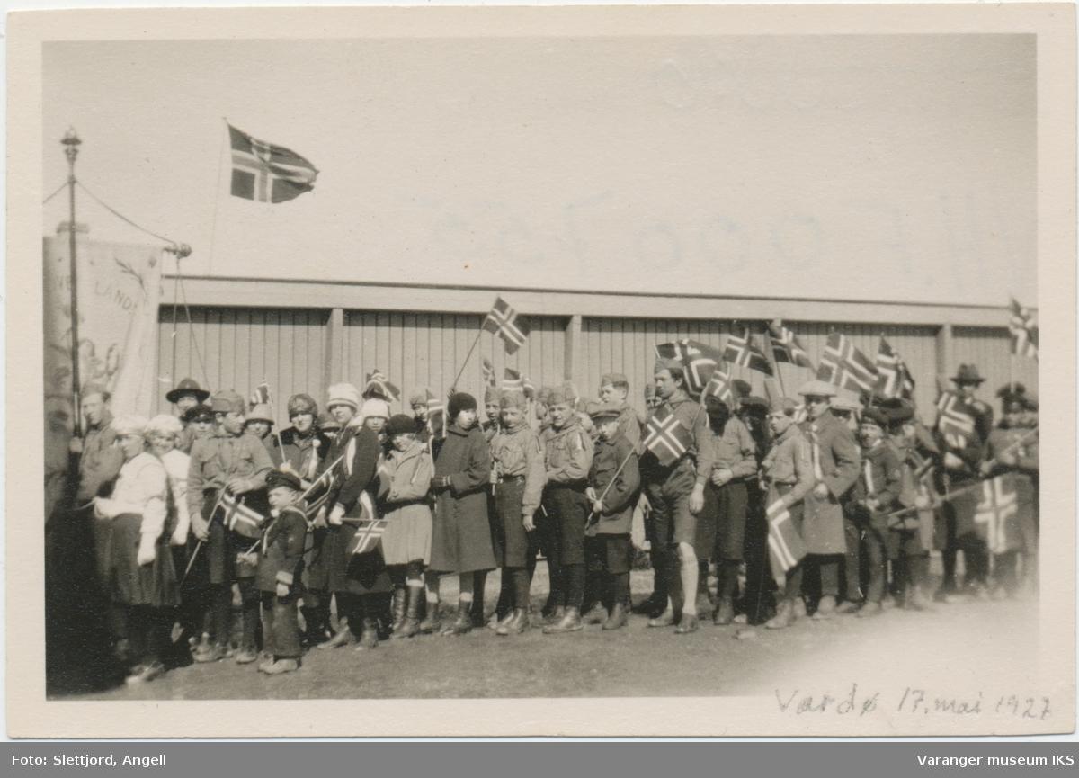 Barnetog, 17. mai 1927