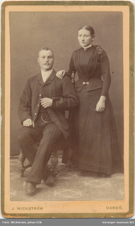 Dobbeltportrett, mann og kvinne
