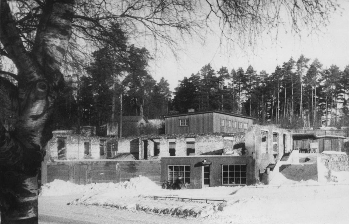 Pedersengården i ruiner