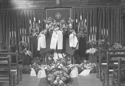 Kjøbmann Arne Kvam's kremasjon