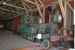 """Damplokomotiv NSB type III nr. 21 """"Alf"""""""