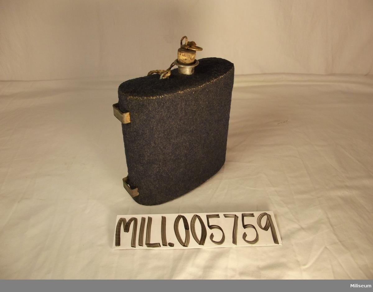 Dricksflaska m/1875 för manskap vid infanteriet.