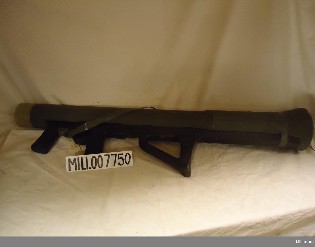 Granatgevär m/1986, prototyp, främst avsett för bärprov mm.