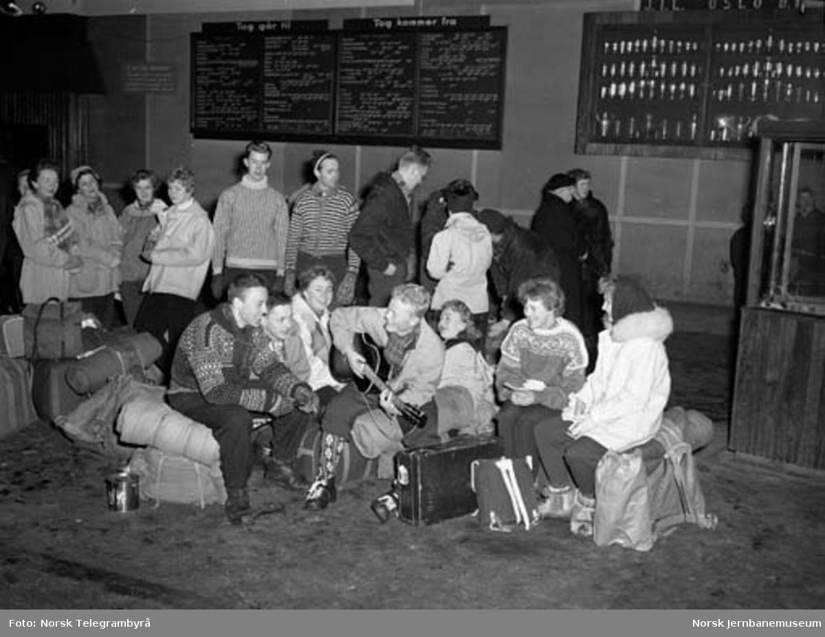 Påsketrafikken 1956