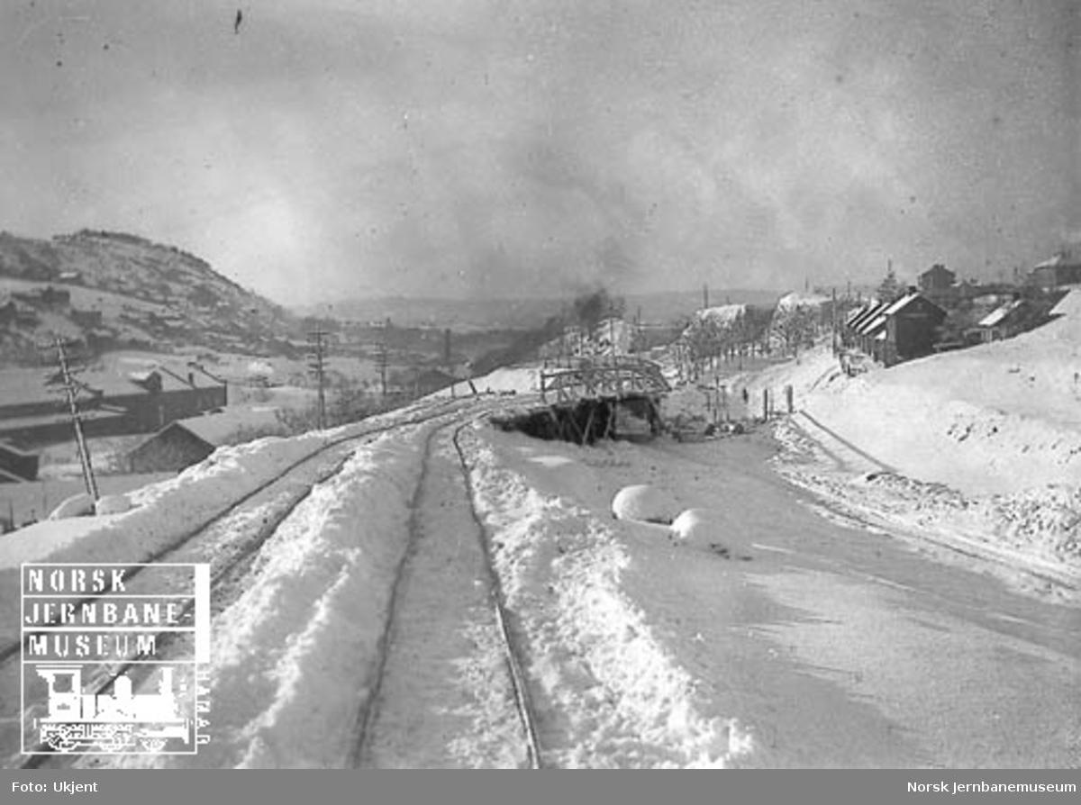 Planering for godssporet ved Kværner