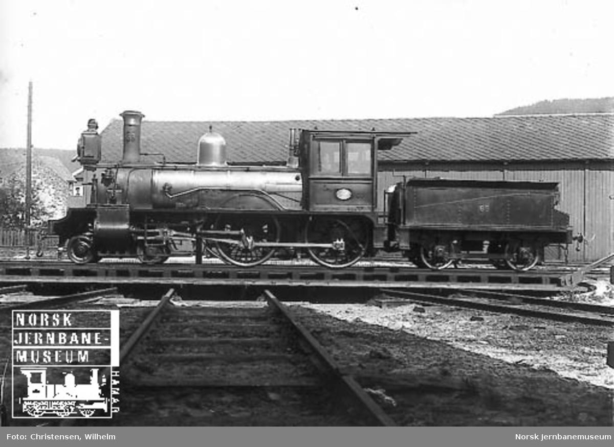 Damplokomotiv type XIII nr. 68