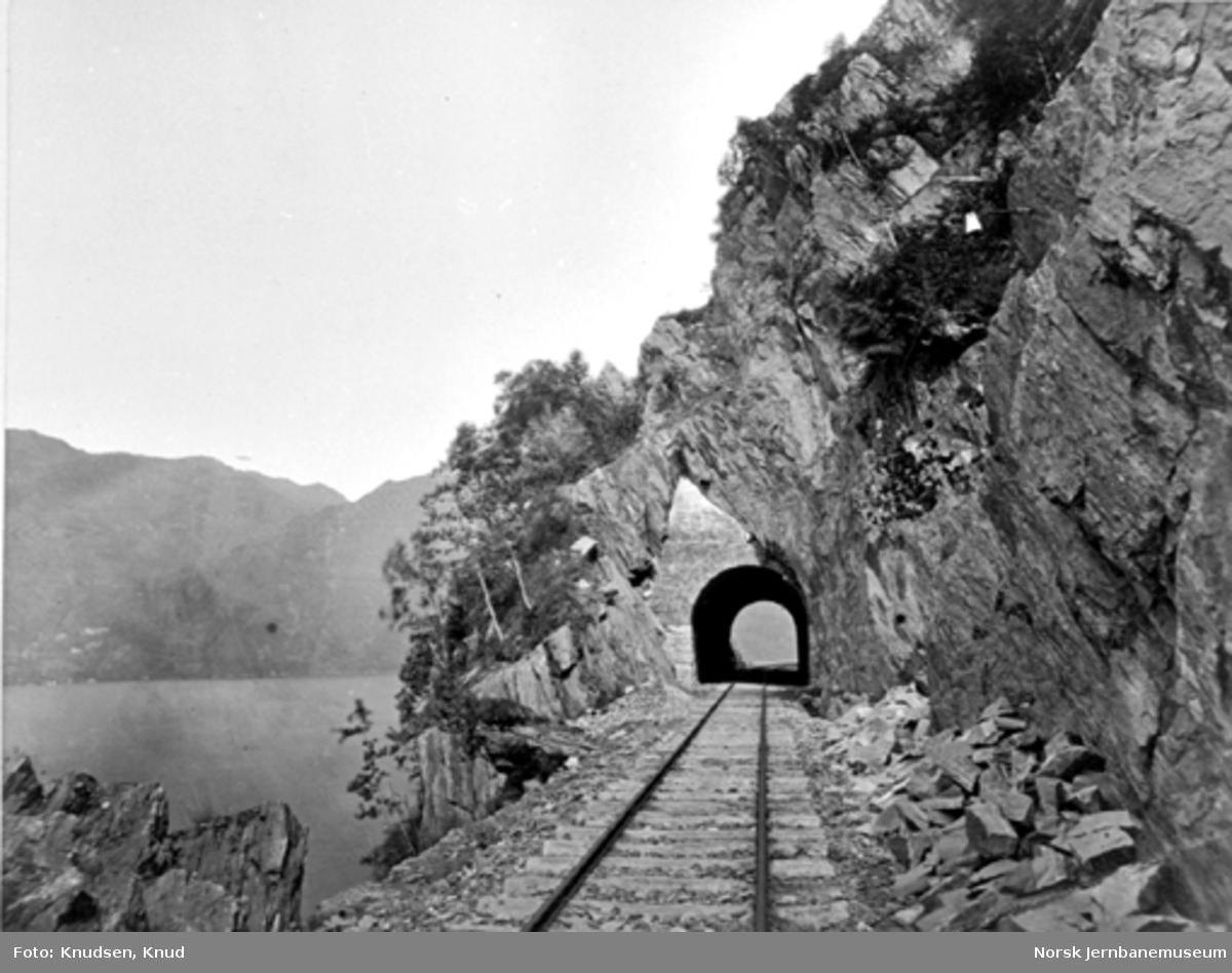 Parti fra Vossebanen; Hana tunnel I